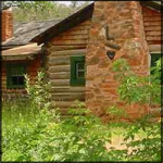 The Carolyn Lockhart Ranch, photo courtesy of the State Historic Preservation Office.