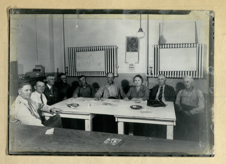 The Sheridan Electric Coop's first board of trustees, 1946
