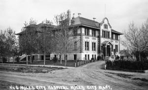 Holy Rosary Hospital, Miles City, no date.