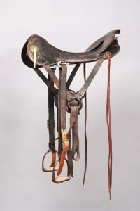 McClellan style saddle, c. 1905