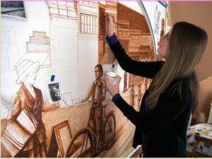 hadley mural